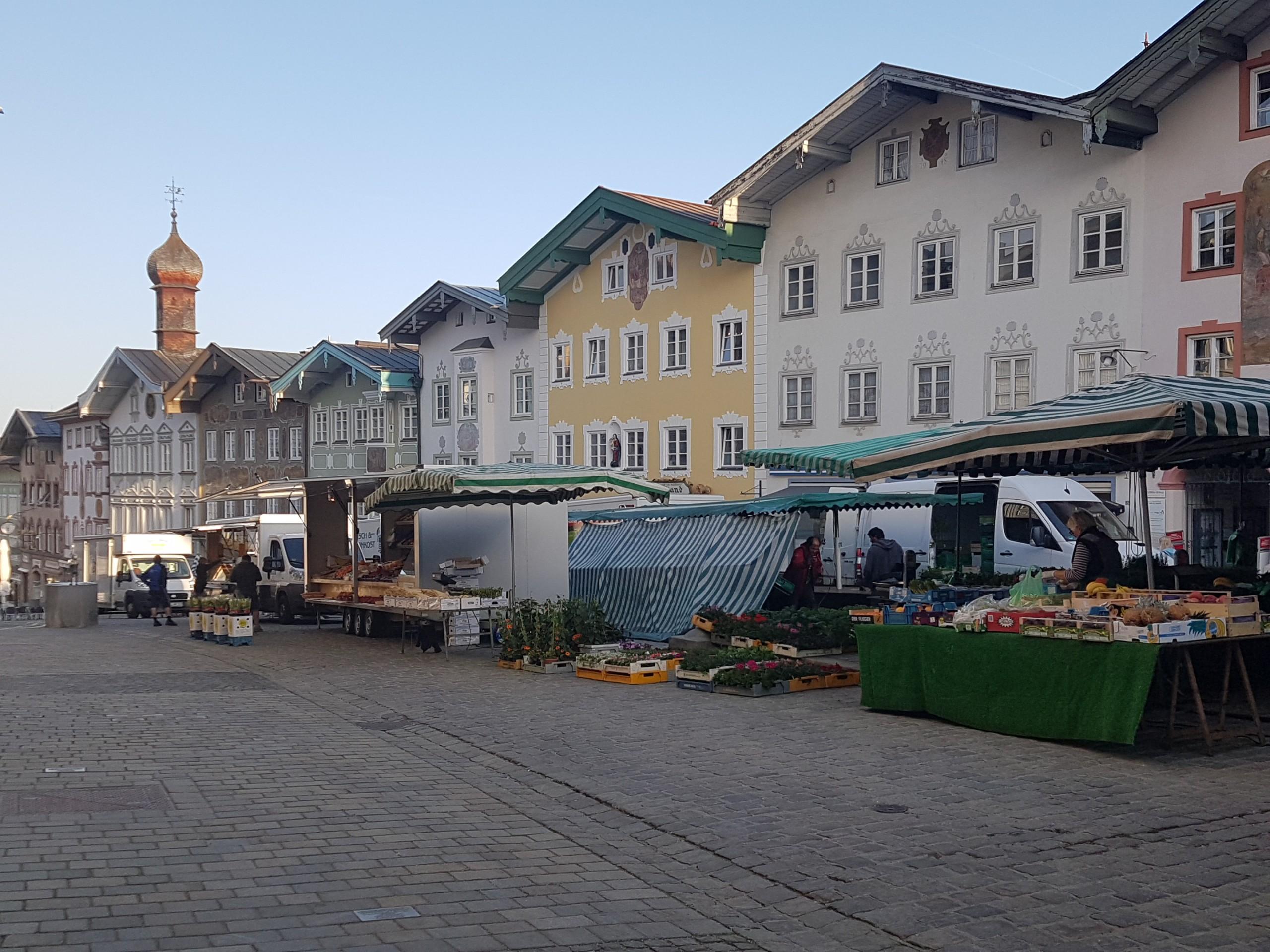 Wochenmarkt in Bad Tölz