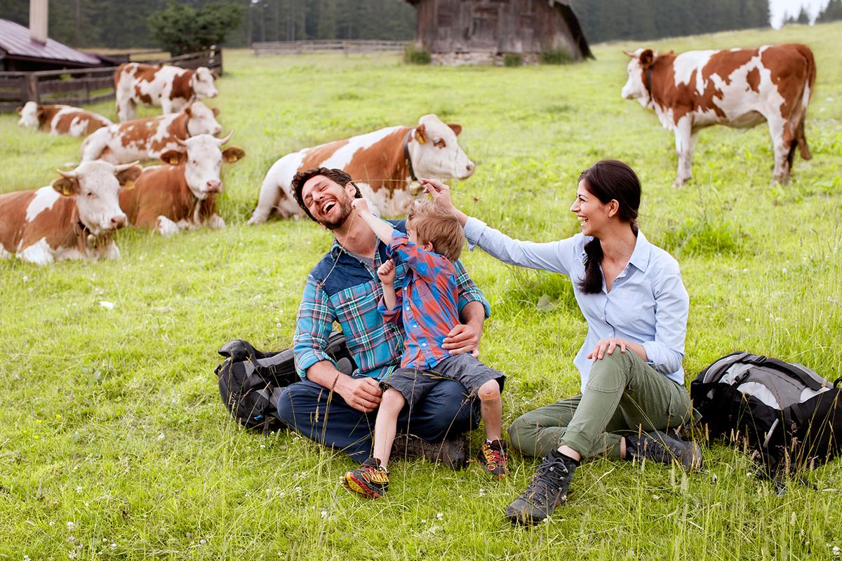 Familiengaudi auf dem Blomberg