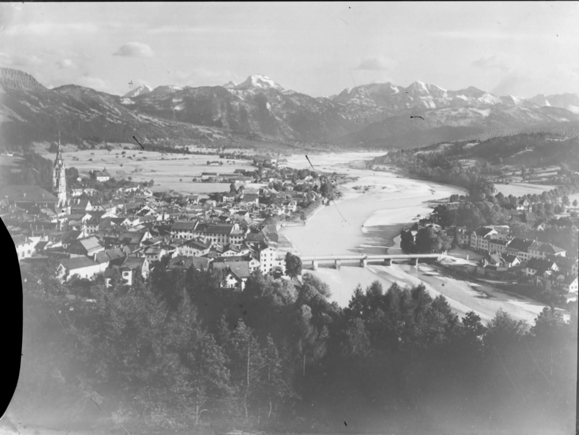 Stadtbild Bad Tölz früher