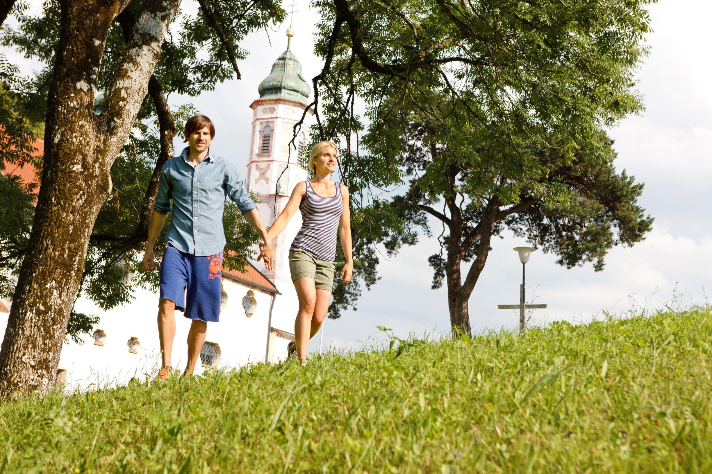 Spaziergang auf dem Kalvarienberg
