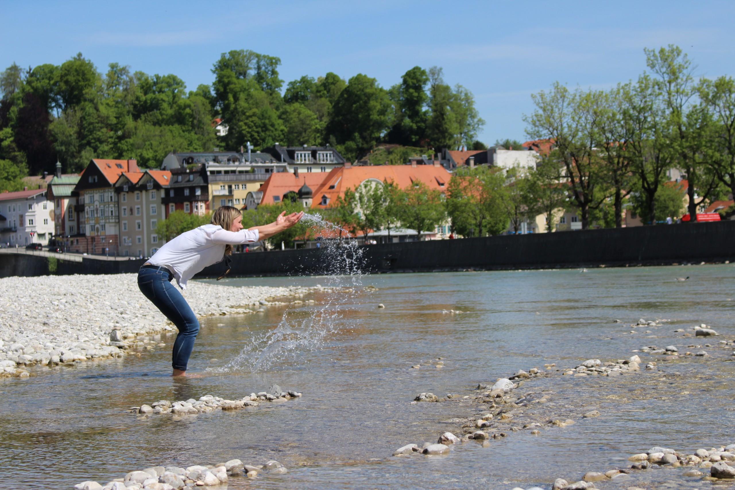 Fluss & Menschen