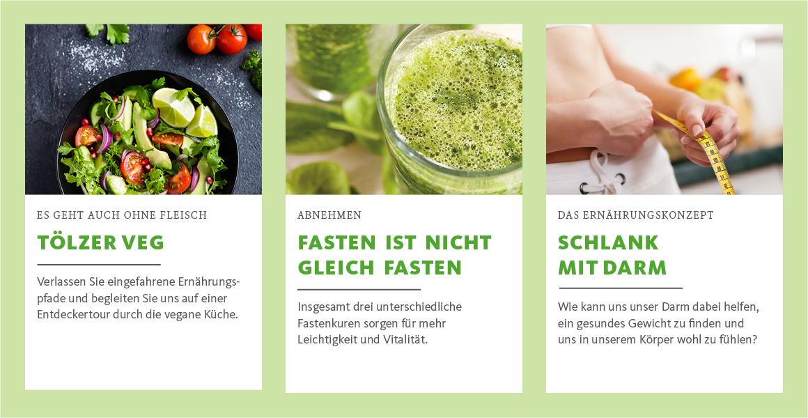 Ernährungsangebote von Bad Tölz