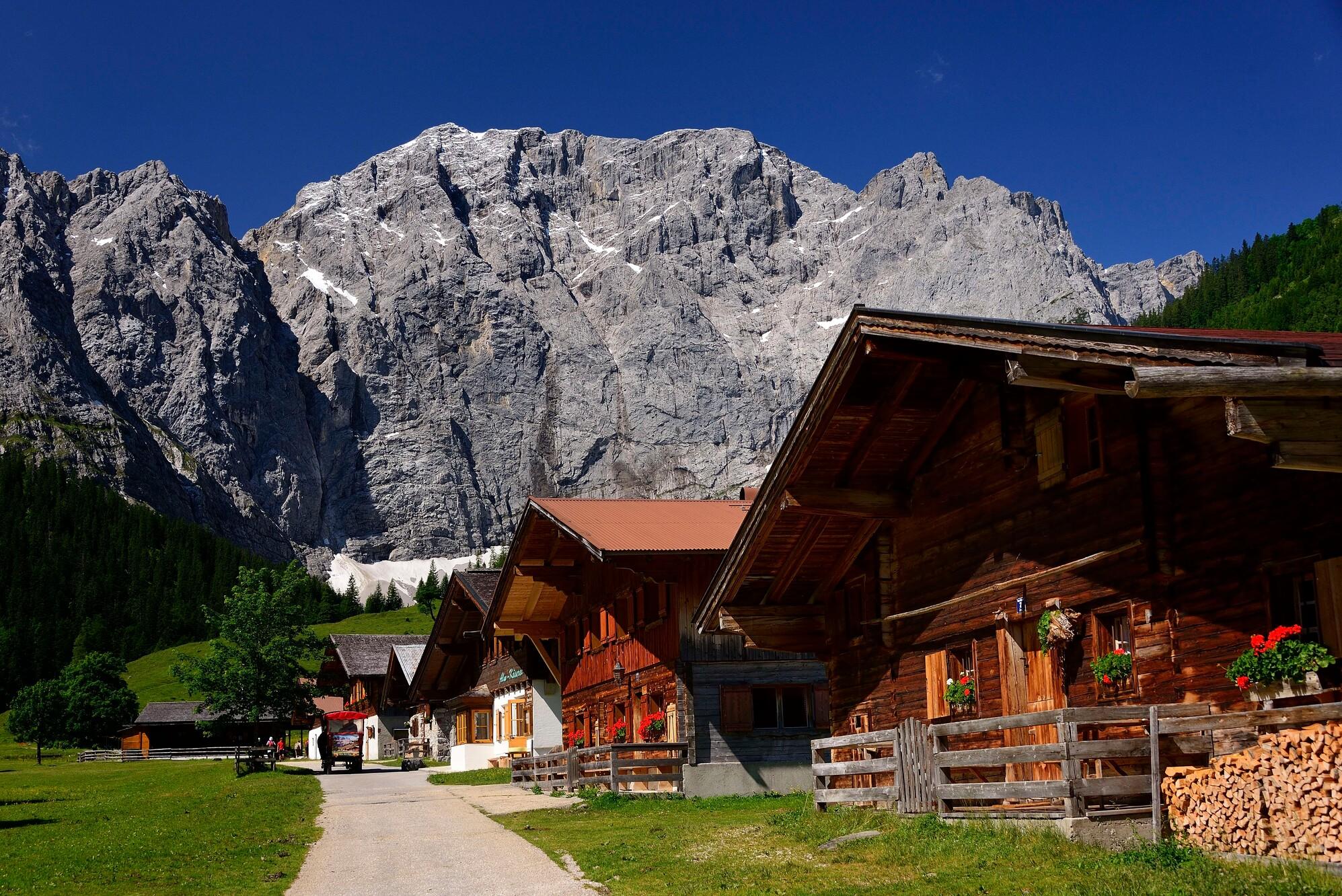 Eng im Karwendel