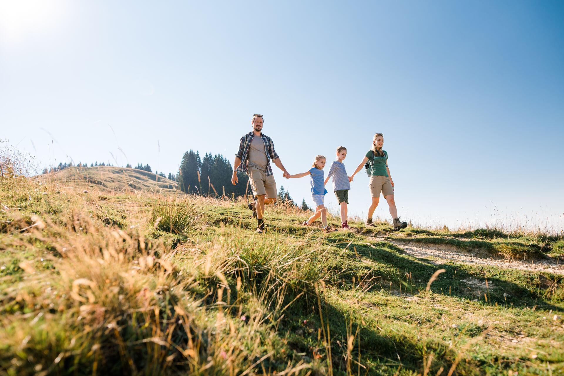 Familienwanderung am Blomberg