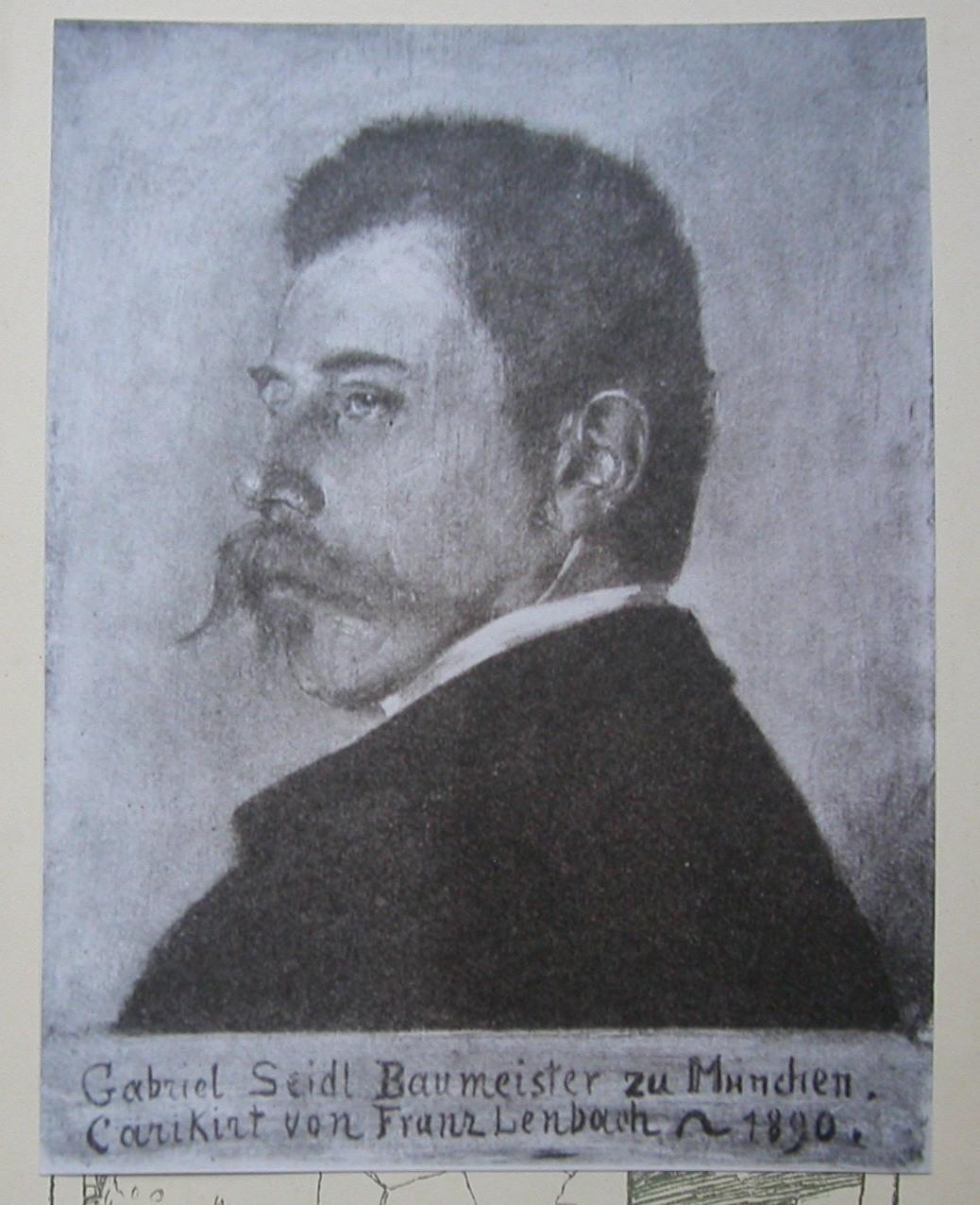 Gabriel von Seidl in Bad Tölz