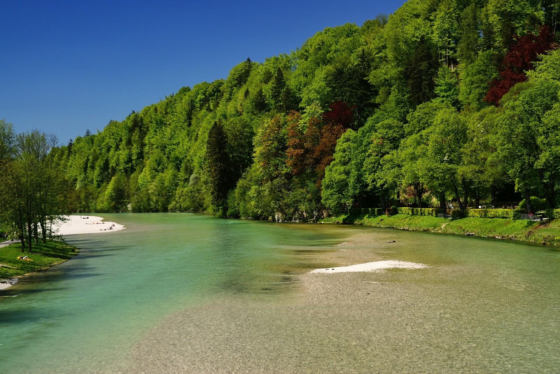 Isar in Bad Tölz