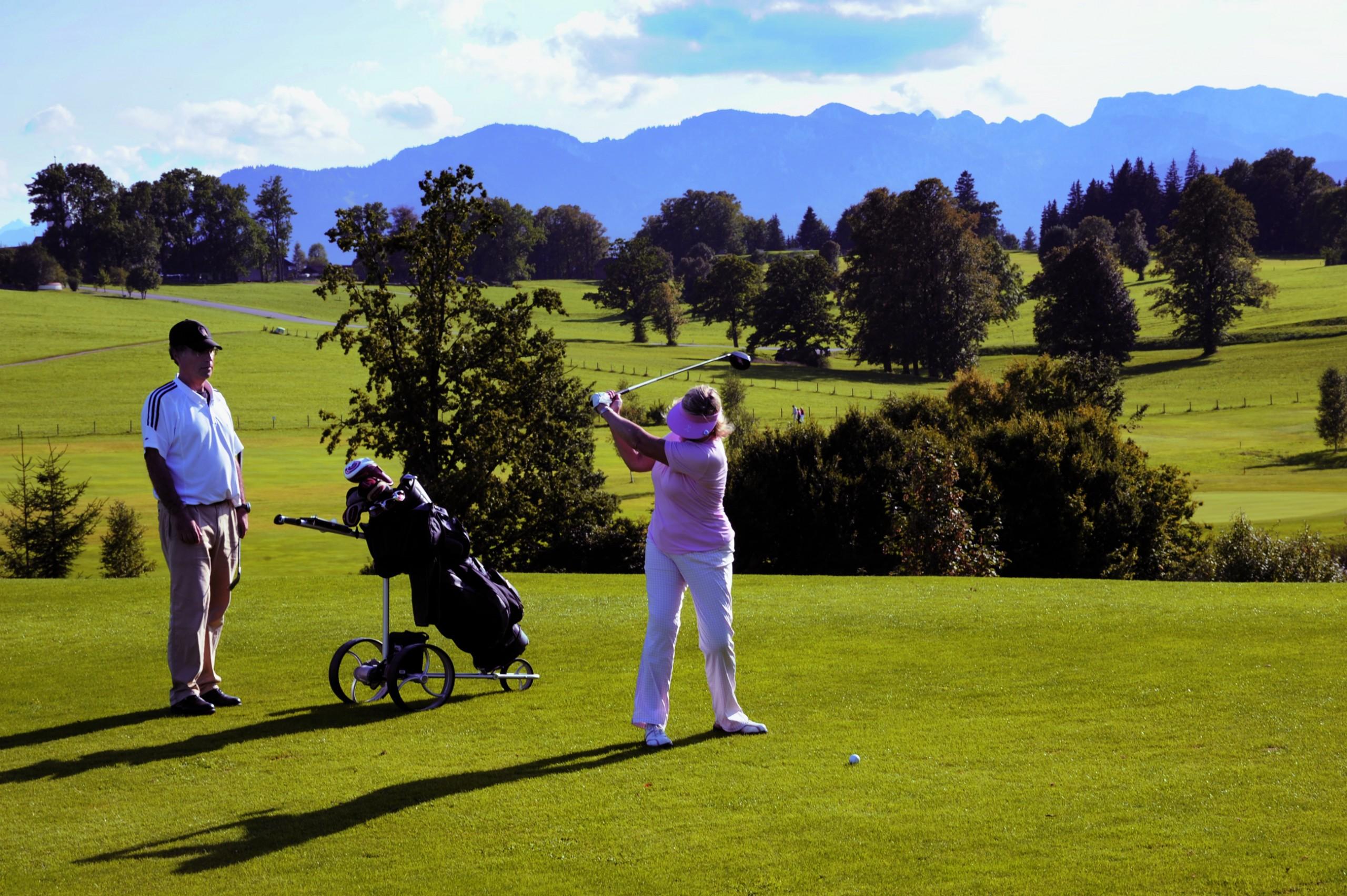 Golfen in Bad Tölz